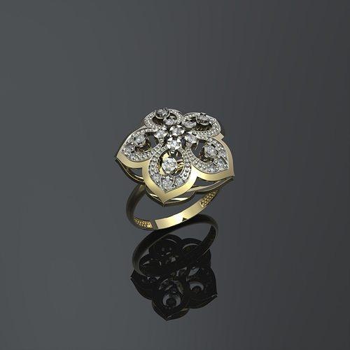 женские кольца 1237