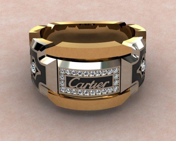 мужские кольца  1255