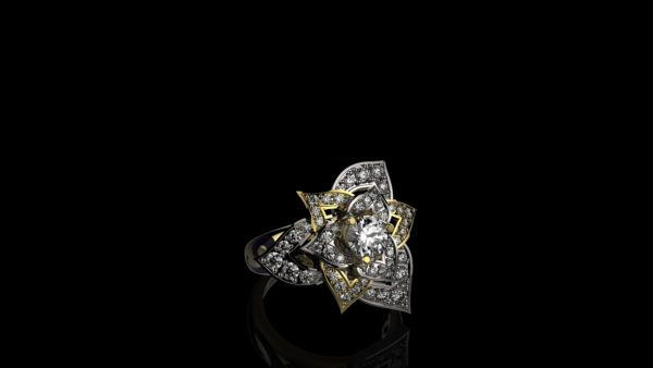 женские кольца 1304