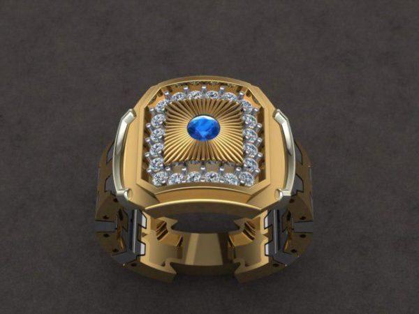 Мужское кольцо 1259