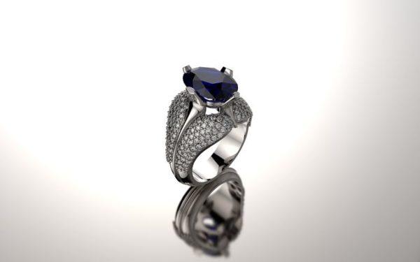 Женское кольцо 1333