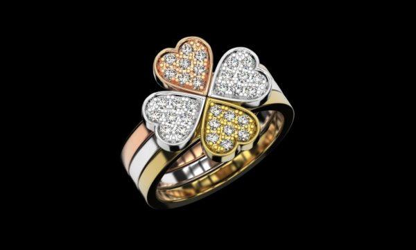 Женское кольцо 1247