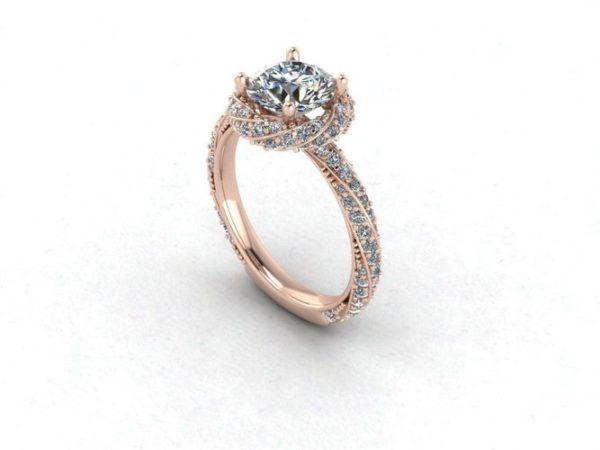 Женское кольцо 1381