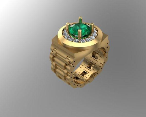 мужские кольца  1251