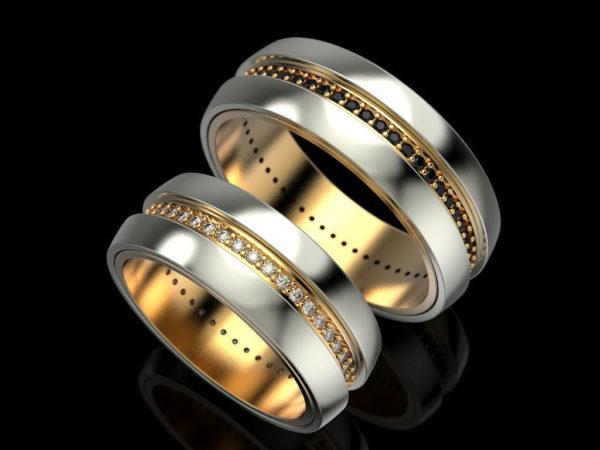 Обручальное кольцо 1328