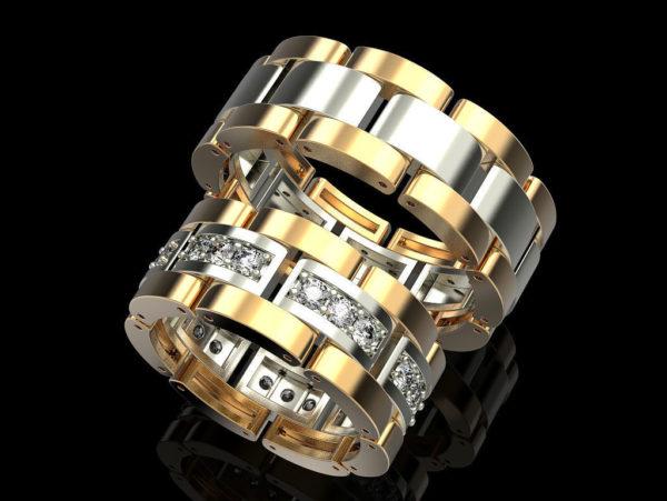 Обручальное кольцо 1316