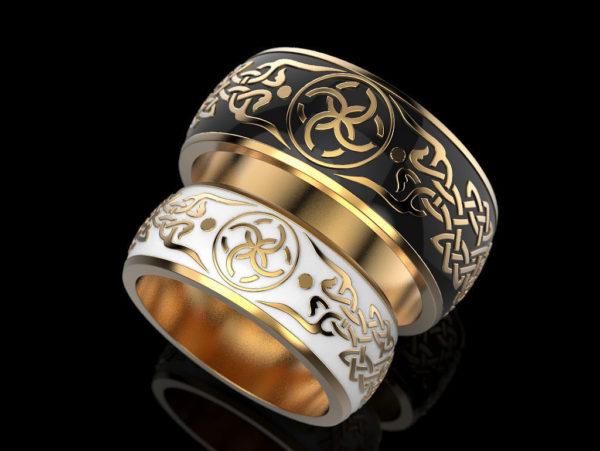 обручальные кольца 1411