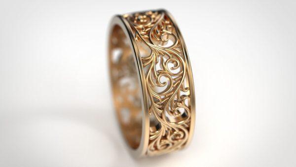 Обручальные кольца 1335