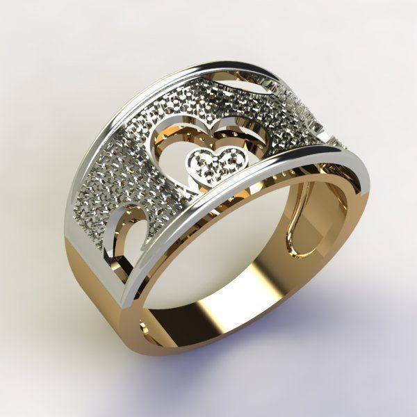Женское кольцо 1347