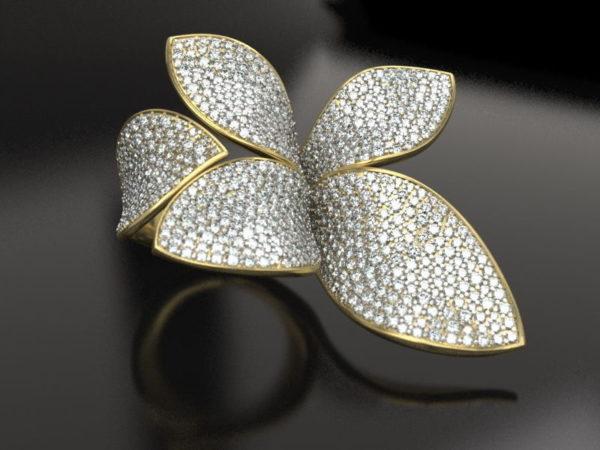 женские кольца 1424