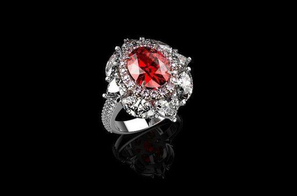 женские кольца 1418