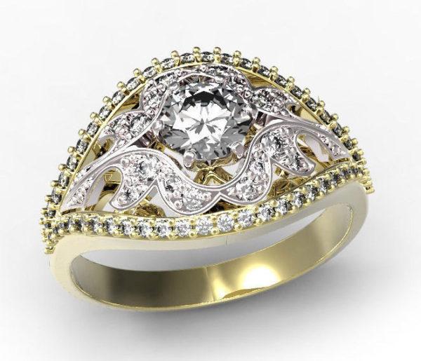 женские кольца 1433