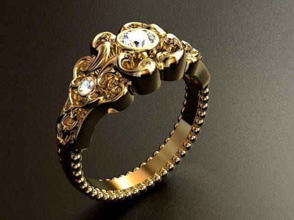 женские кольца 1431