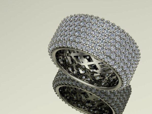 женские кольца 1423
