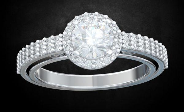 женские кольца 1429