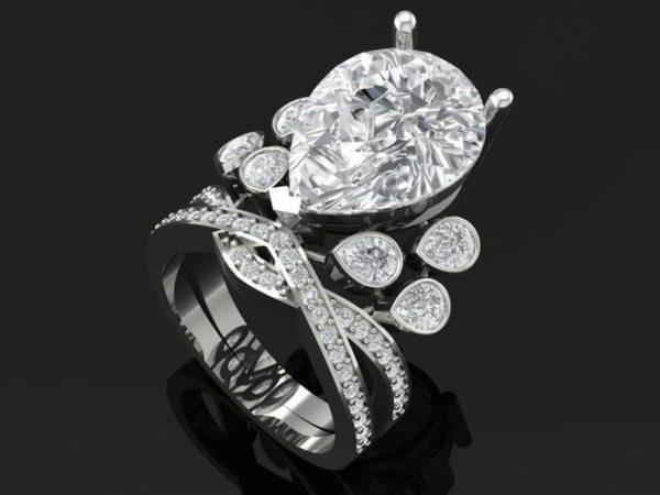 Женское кольцо 1425