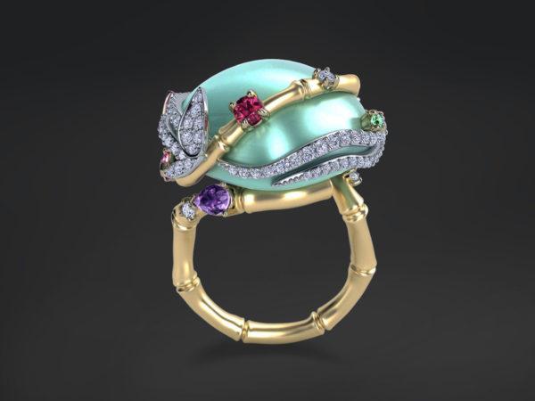 Женское кольцо 1432