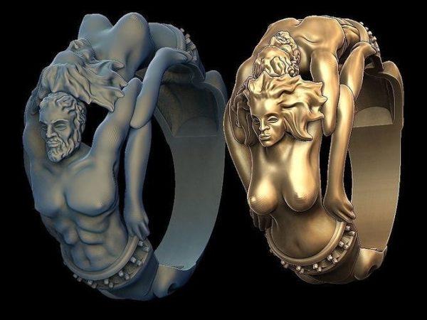 женские  кольца  1442