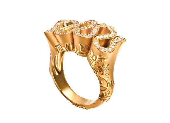 Женское кольцо  1444