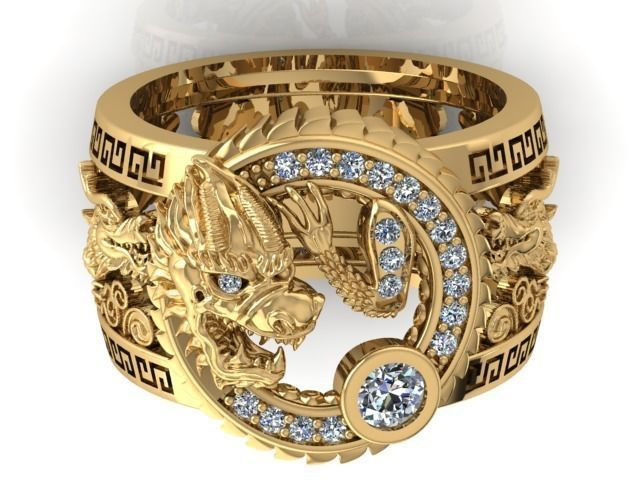 мужские  кольца  1446