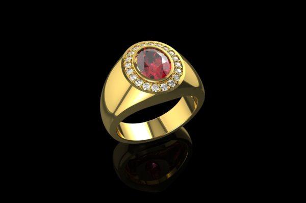 Мужское кольцо 1441