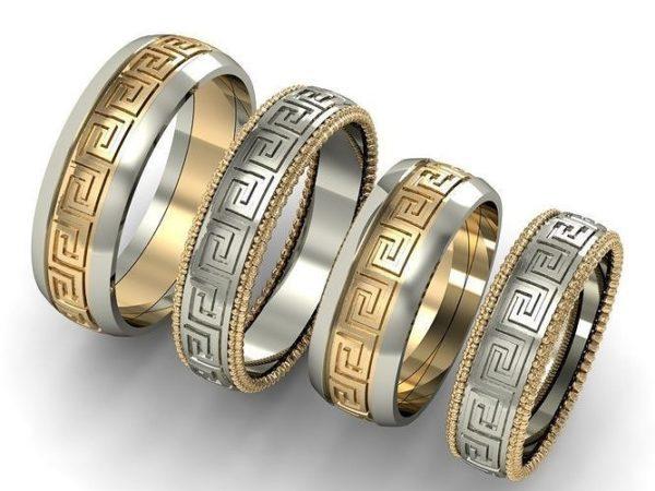 Обручальное кольцо 1458