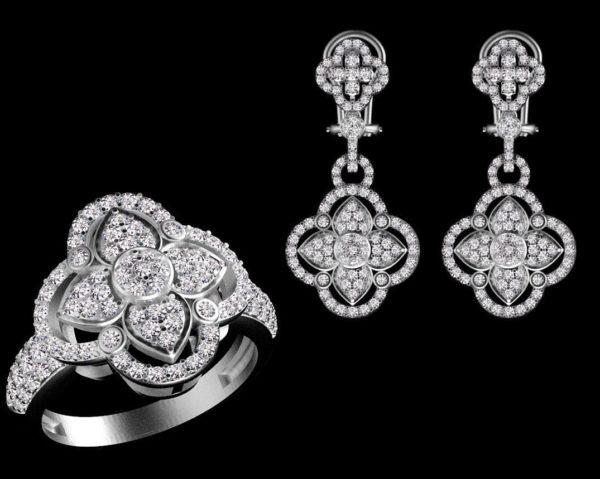 женские кольца 1460