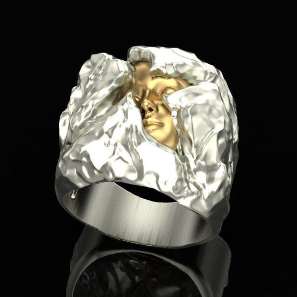 женские кольца  1454