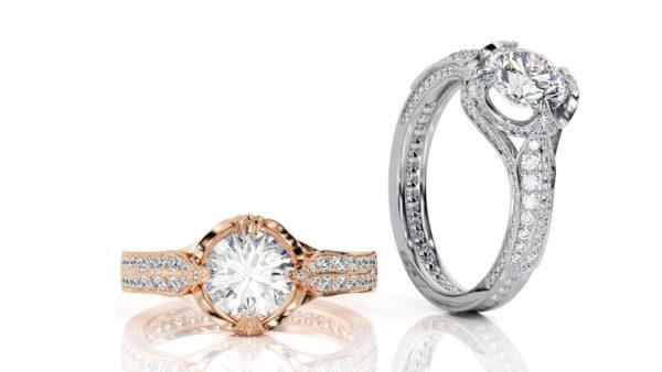 женские кольца  1453