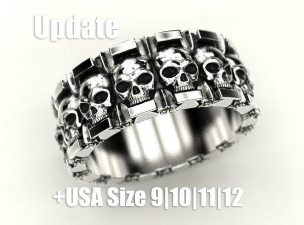 Мужское кольцо 1452