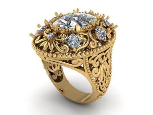 Женское кольцо  1435