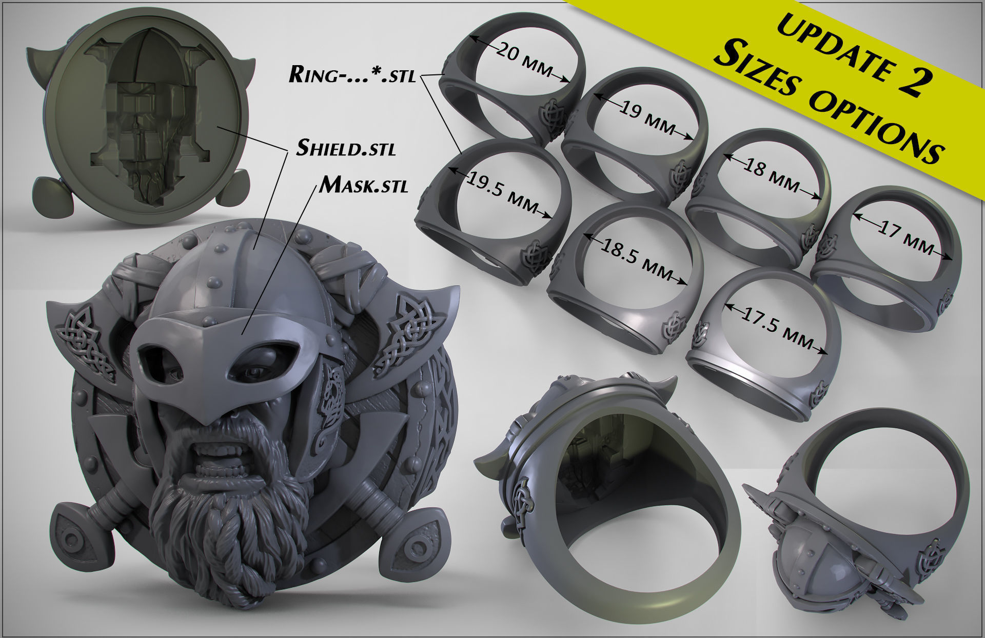 мужские  кольца  1445