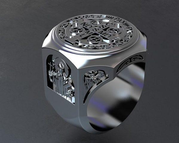 мужские кольца 1459