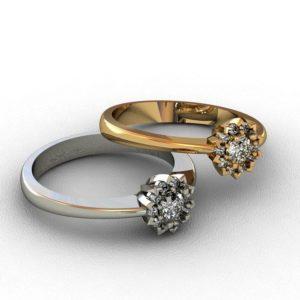 Женские кольца  1472