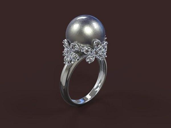 Женское кольцо  1470