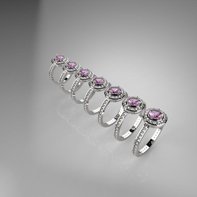Женские кольца  1471