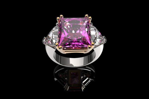 Женское кольцо  1476