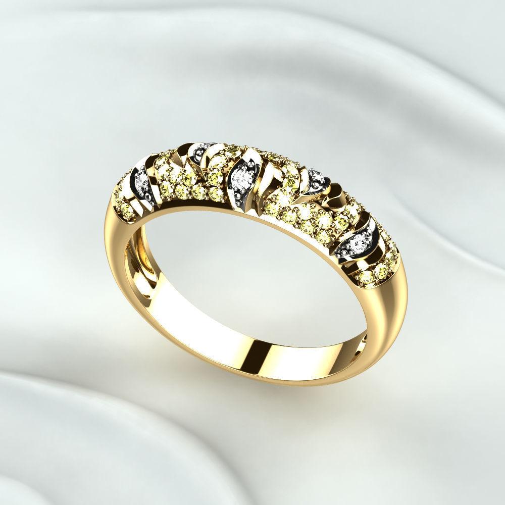 Женские кольца  1477