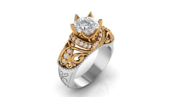Женские кольца Н1157