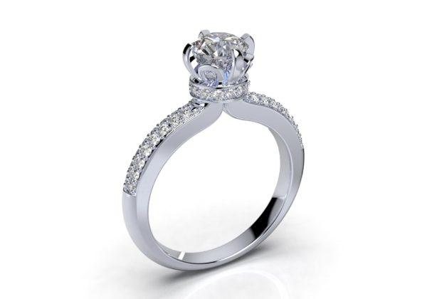 Женские кольца Н1162