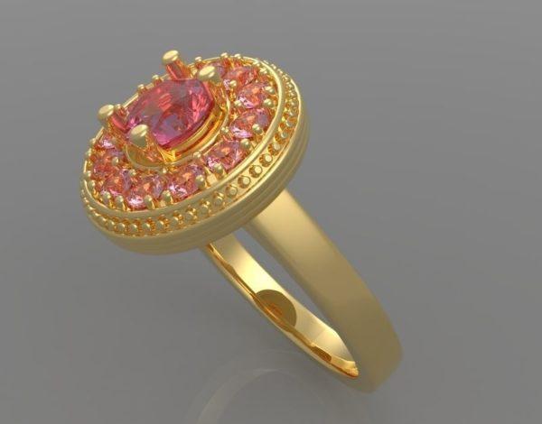 Женские кольца  Н1173