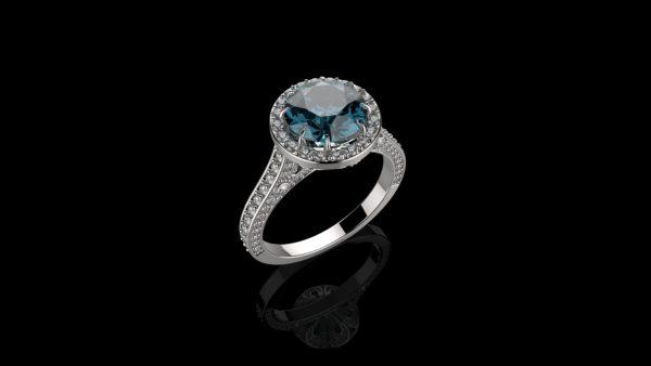 Женские кольца Н1154