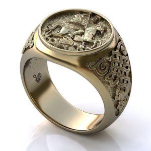 Мужские  кольца Н1167