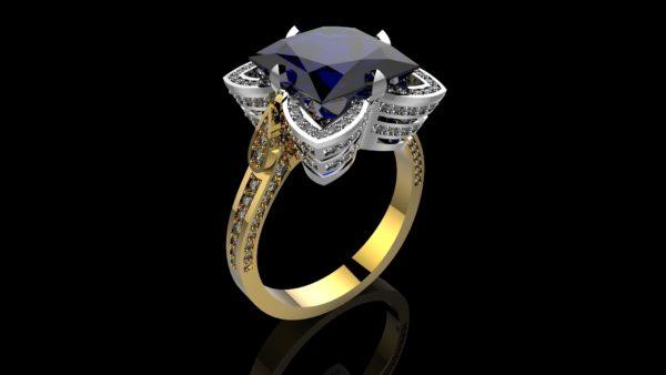 Женские кольца  Н1174