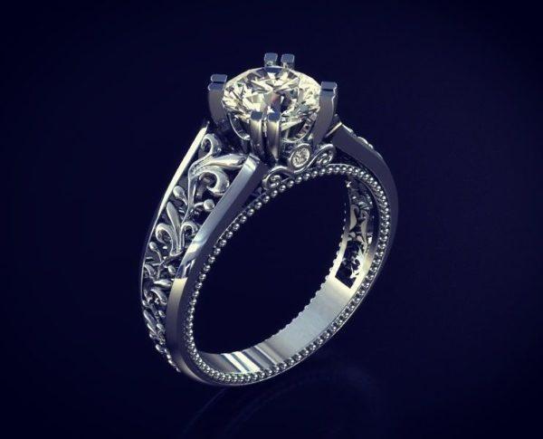 Женские кольца Н1160