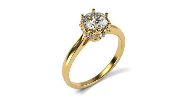 Женские кольца Н1164