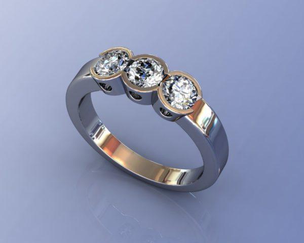 Женские кольца  Н1178