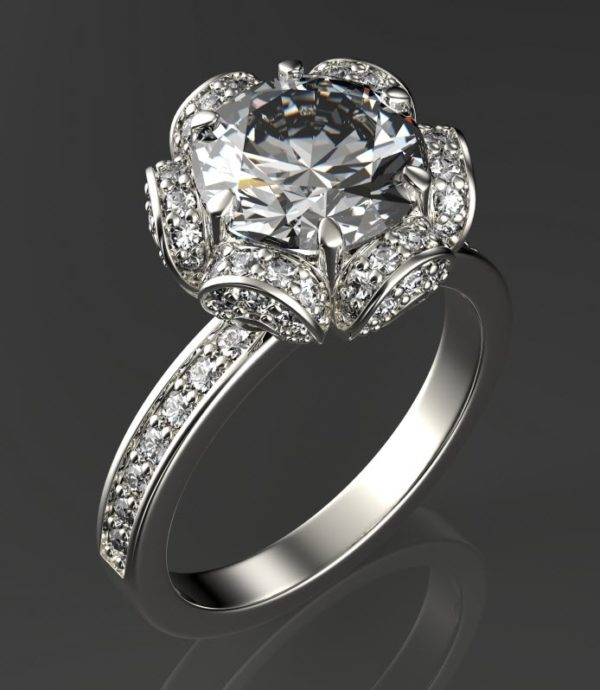 Женские кольца  Н1123