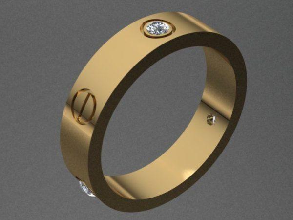 Женские кольца  Н124