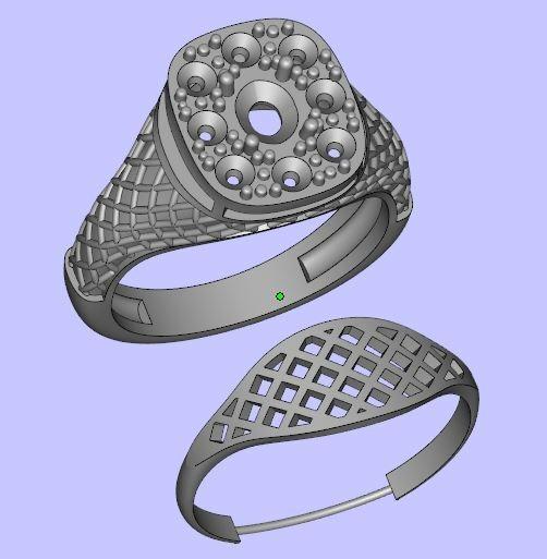 Женские кольца  Н099
